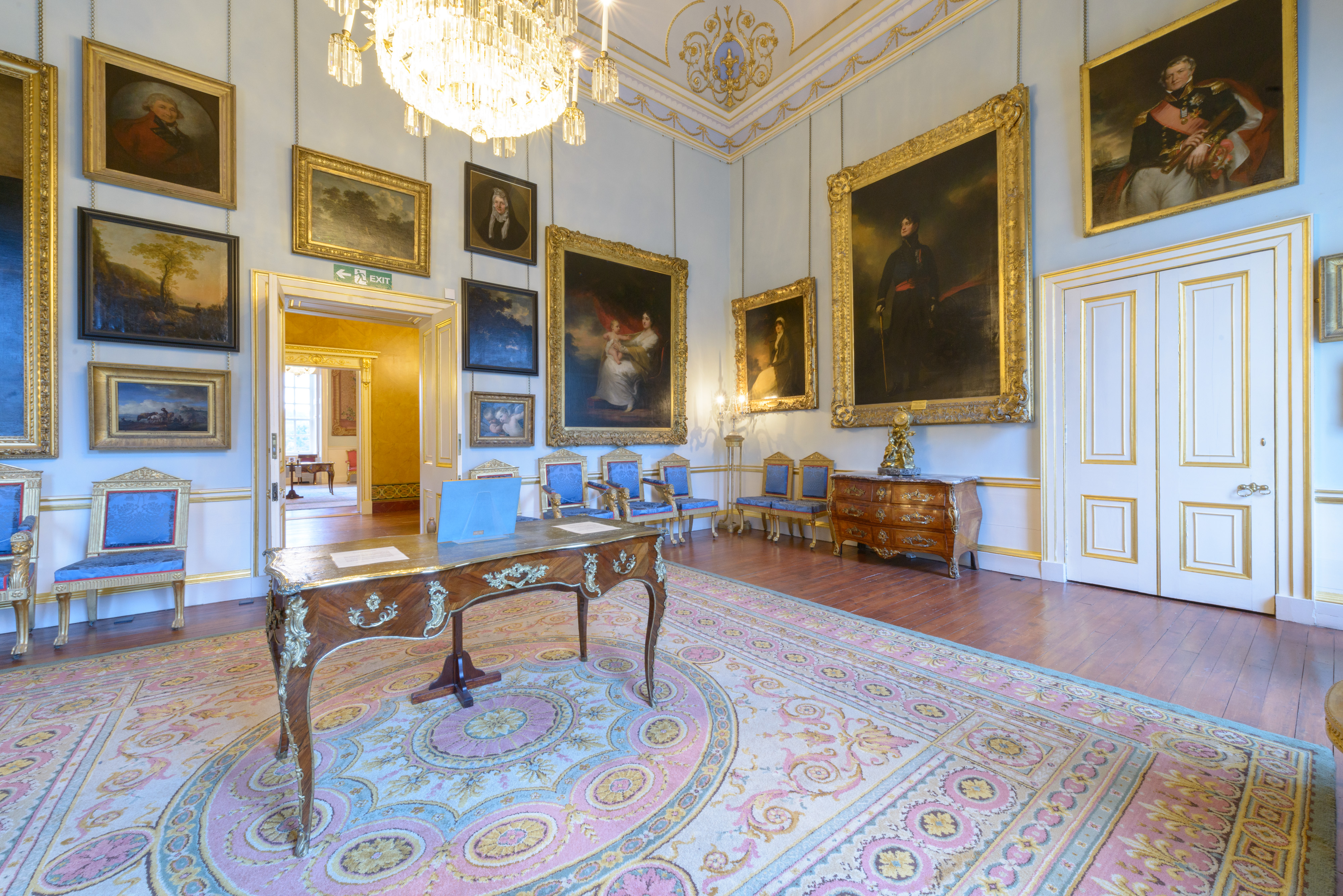 The North Drawing Room At Duff House.
