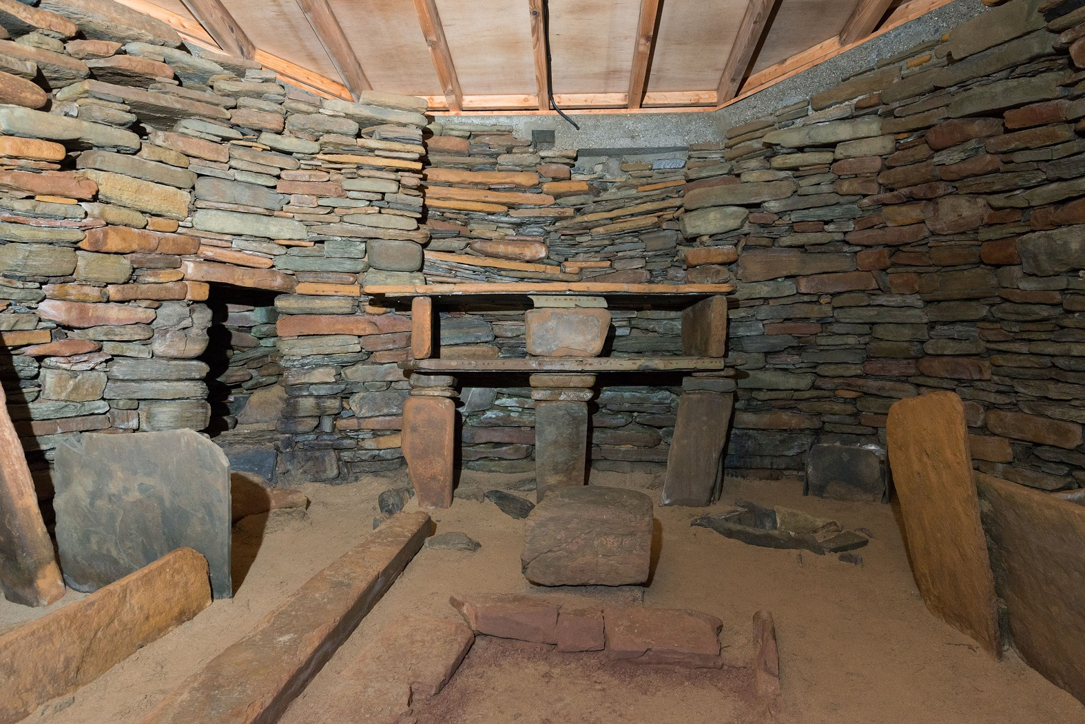 View of house 7 at Skara Brae