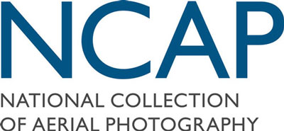 "A graphic reading ""NCAP: National Collection of Aerial Photography"""