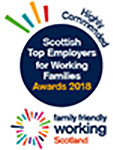 Family Friendly Working Scotland Logo (Highly Commended)